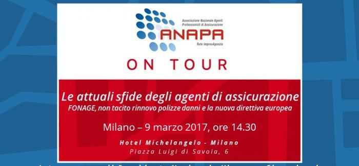 ANAPA on Tour – Milano, 9 marzo 2017