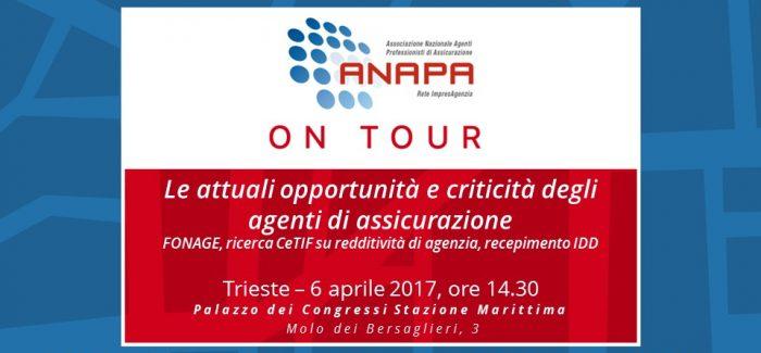 ANAPA on Tour – Trieste, 6 aprile 2017