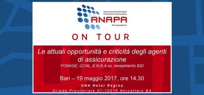 ANAPA on Tour – Bari, 19 maggio 2017