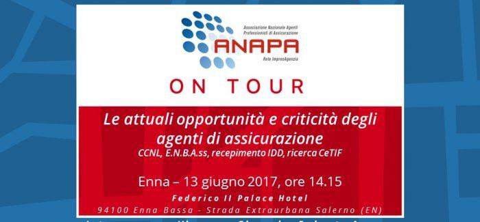 ANAPA on Tour – Enna, 13 giugno 2017