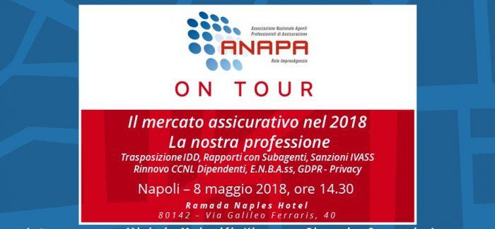 ANAPA on Tour – Napoli, 8 maggio 2018