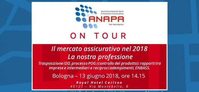ANAPA on Tour – Bologna, 13 giugno 2018