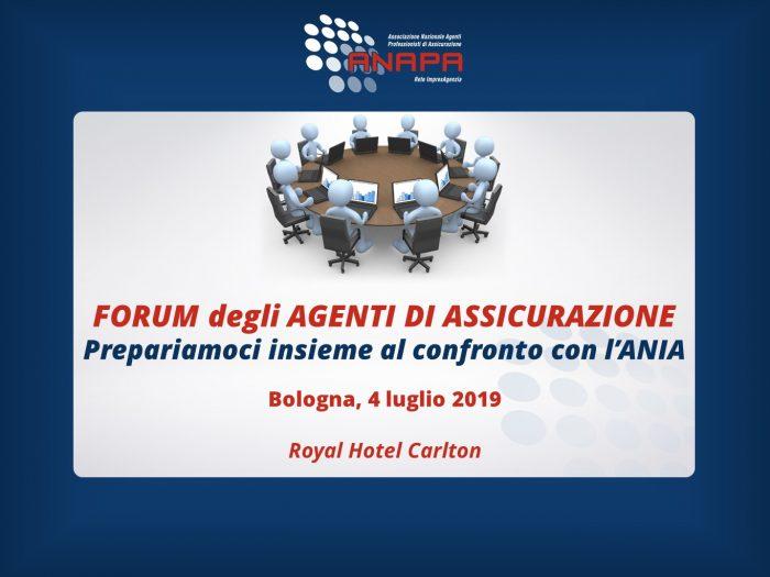 Forum degli Agenti di Assicurazione – Bologna, 4 luglio 2019